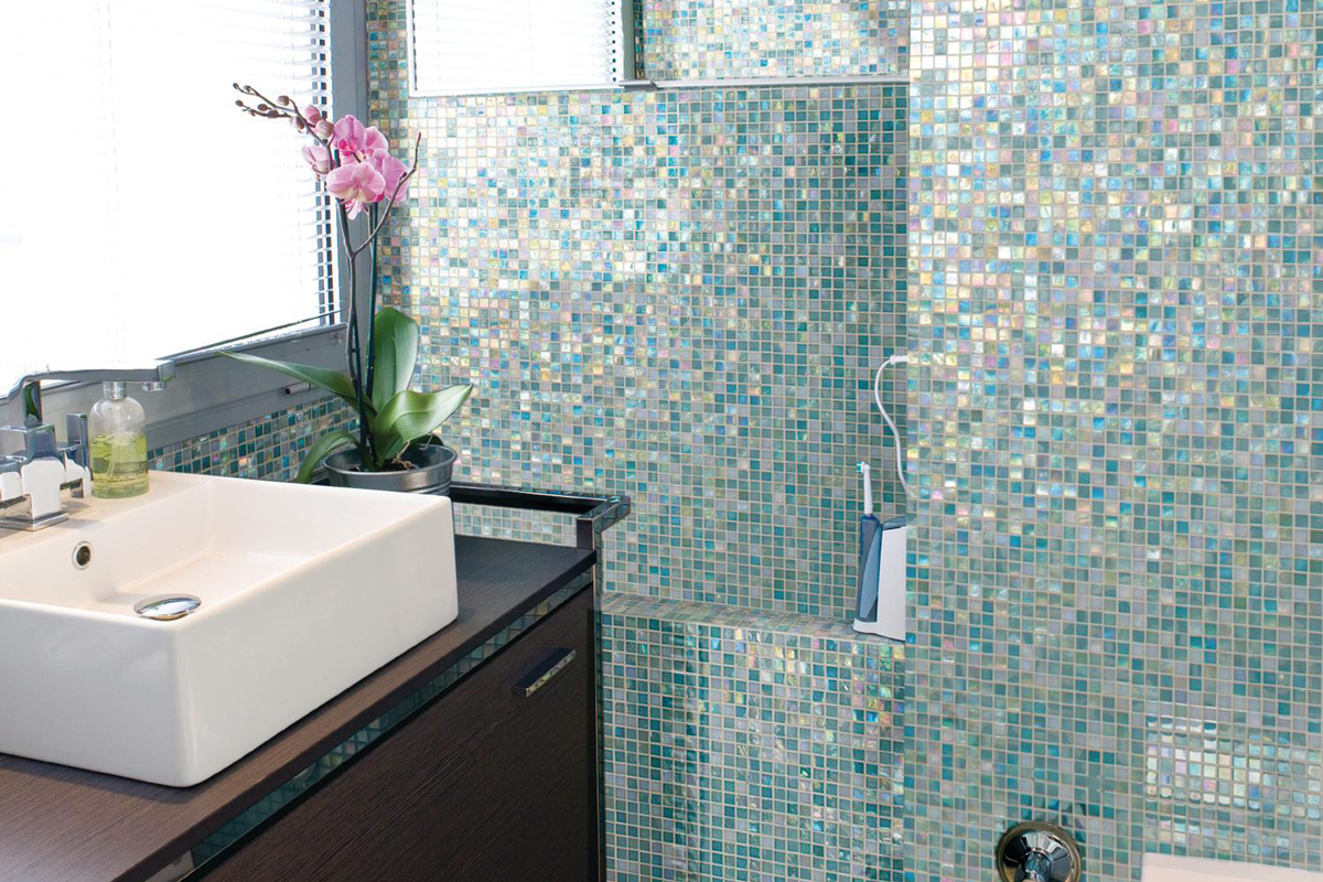 Urban Shimmer Daltile City Lights Collection  Remodeling