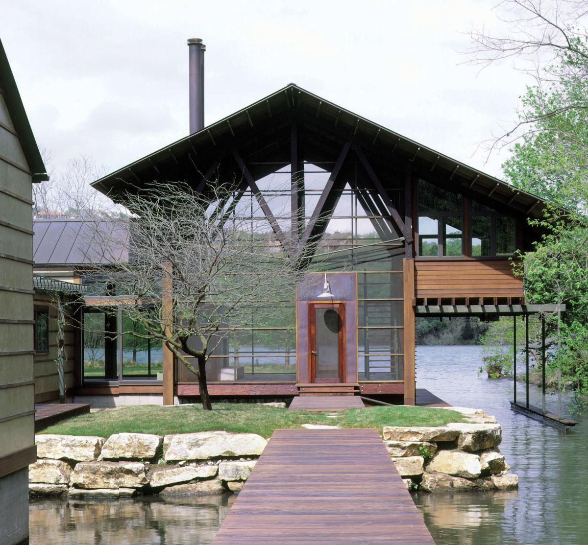 lake austin residence austin texas  Residential Architect  Award Winners Architects Austin