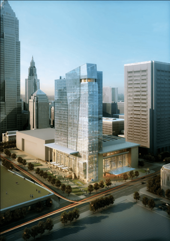 Hilton Cleveland Downtown  Architect Magazine  Cooper Carry Cleveland OH United States