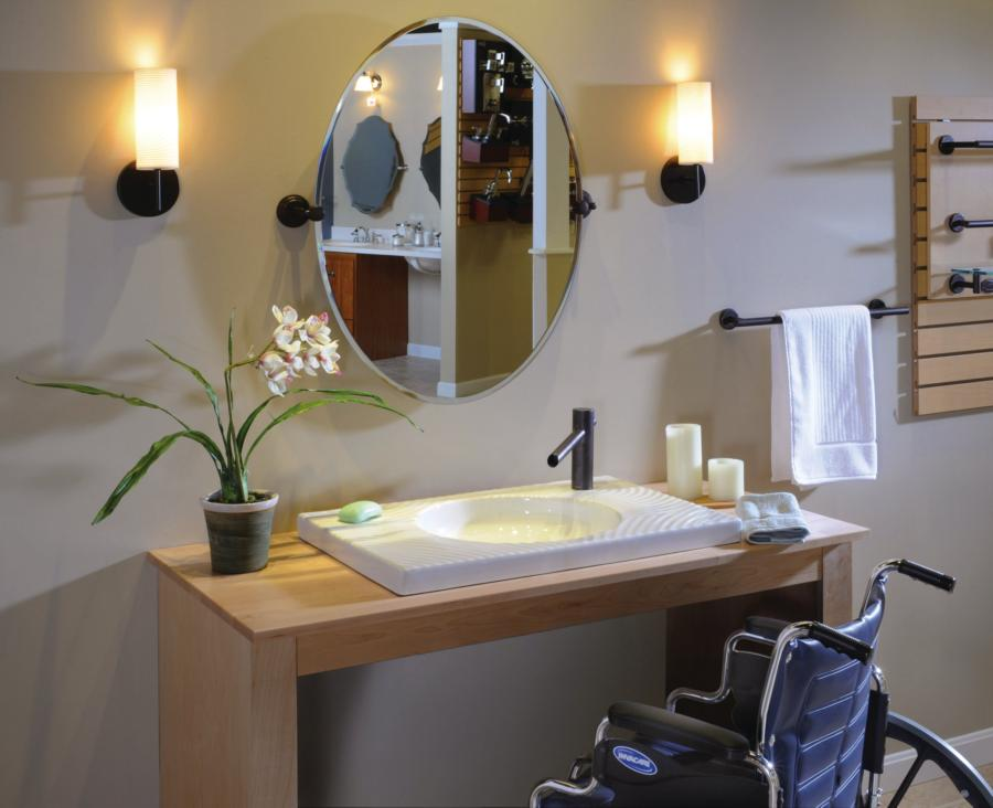 Accessibility Showroom  Remodeling  Fixtures Bath