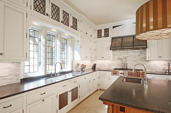 tudor style kitchen Kitchen in a New English Tudor Residence | Architect Magazine | Douglas VanderHorn Architects