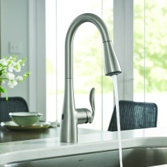 Motionsense Kitchen Faucet Rustic Black Cabinets Touchless Jlc Online Faucets