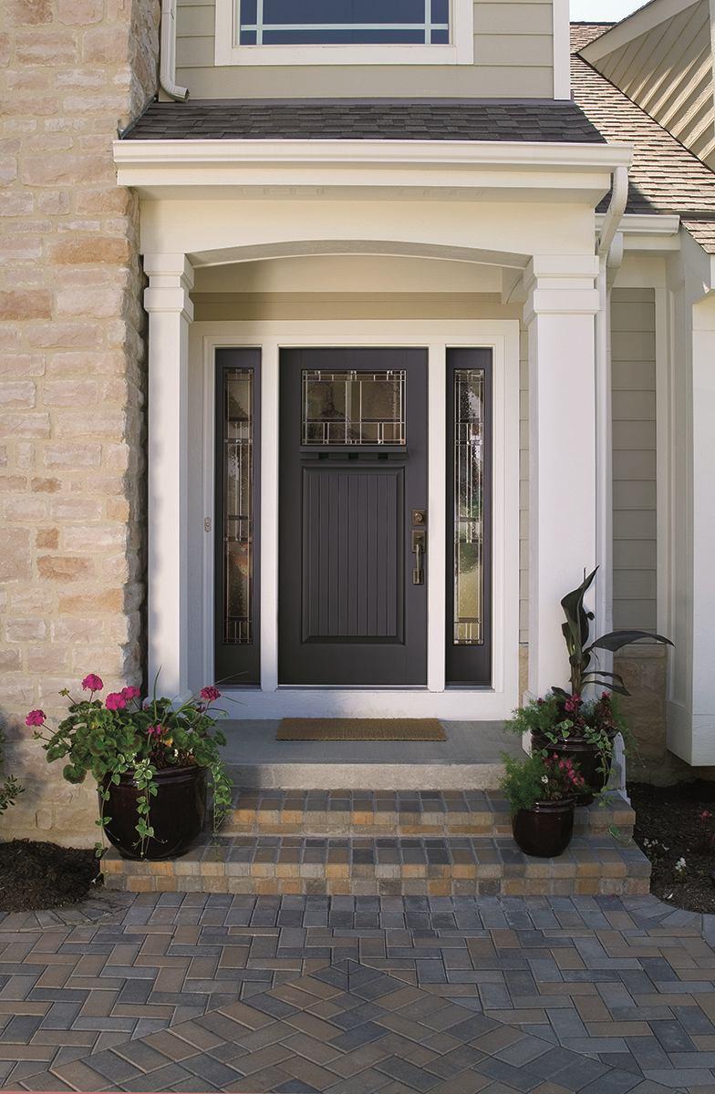 Therma Tru 2014 Entry Door Color Trends Builder Magazine