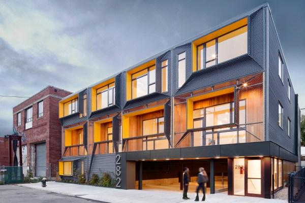 Marginal Street Lofts Architect Magazine Merge Architects East Boston Massachusetts