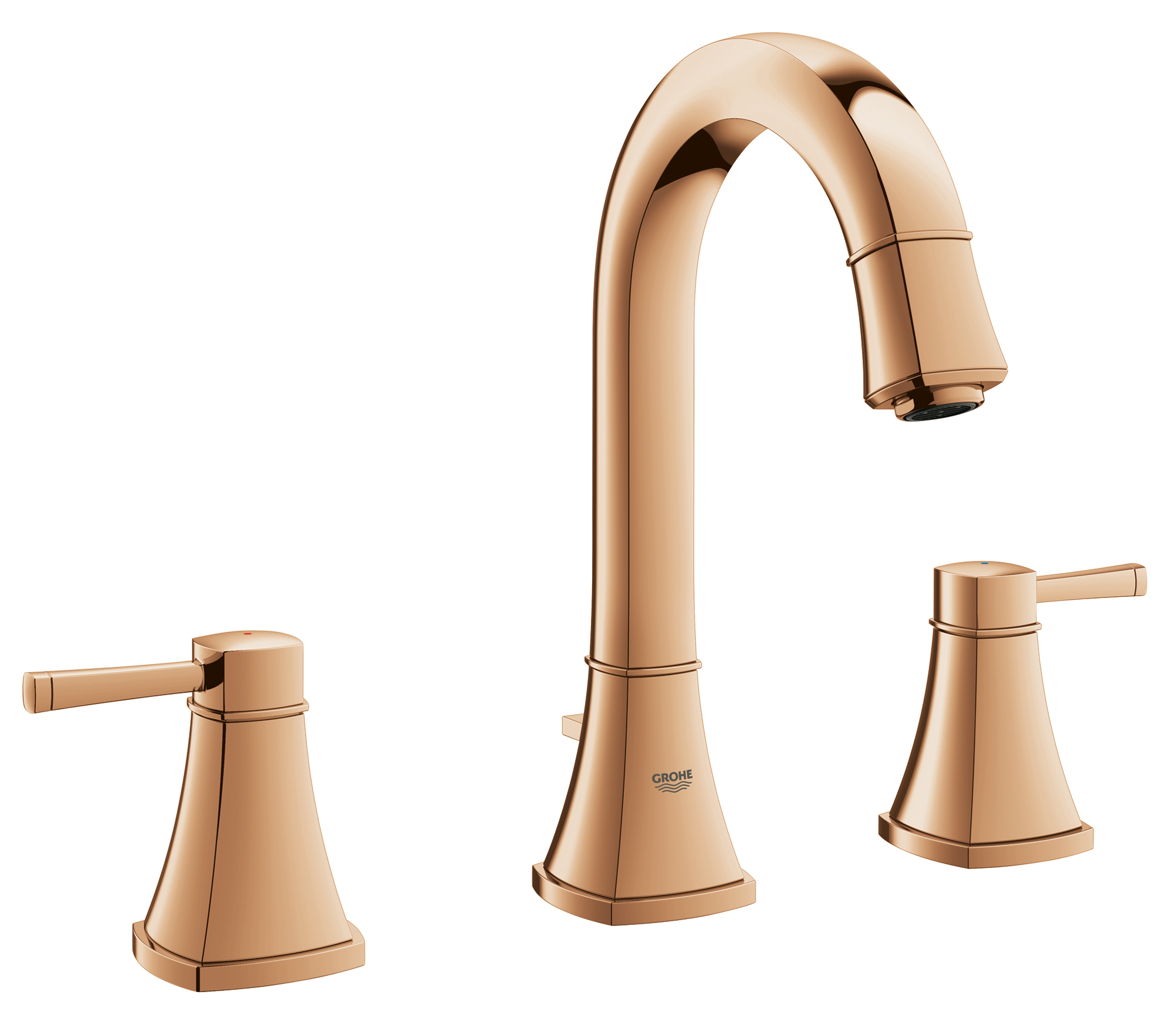 touch faucet kitchen nyc soup kitchens grohe adds feminine with rose gold finish | jlc ...