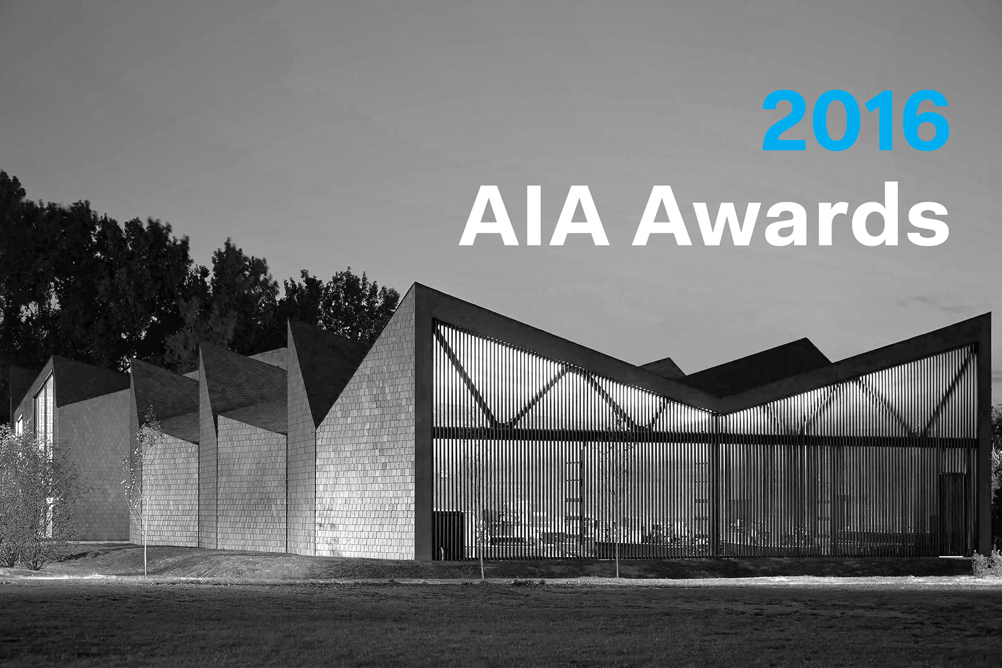 AIA Announces 2016 Institute Honor Awards for Architecture