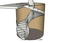 Forming a Circular Concrete Staircase| Concrete ...