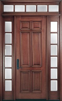 Pella Corporation Pre-Finished Wood Entry Doors ...
