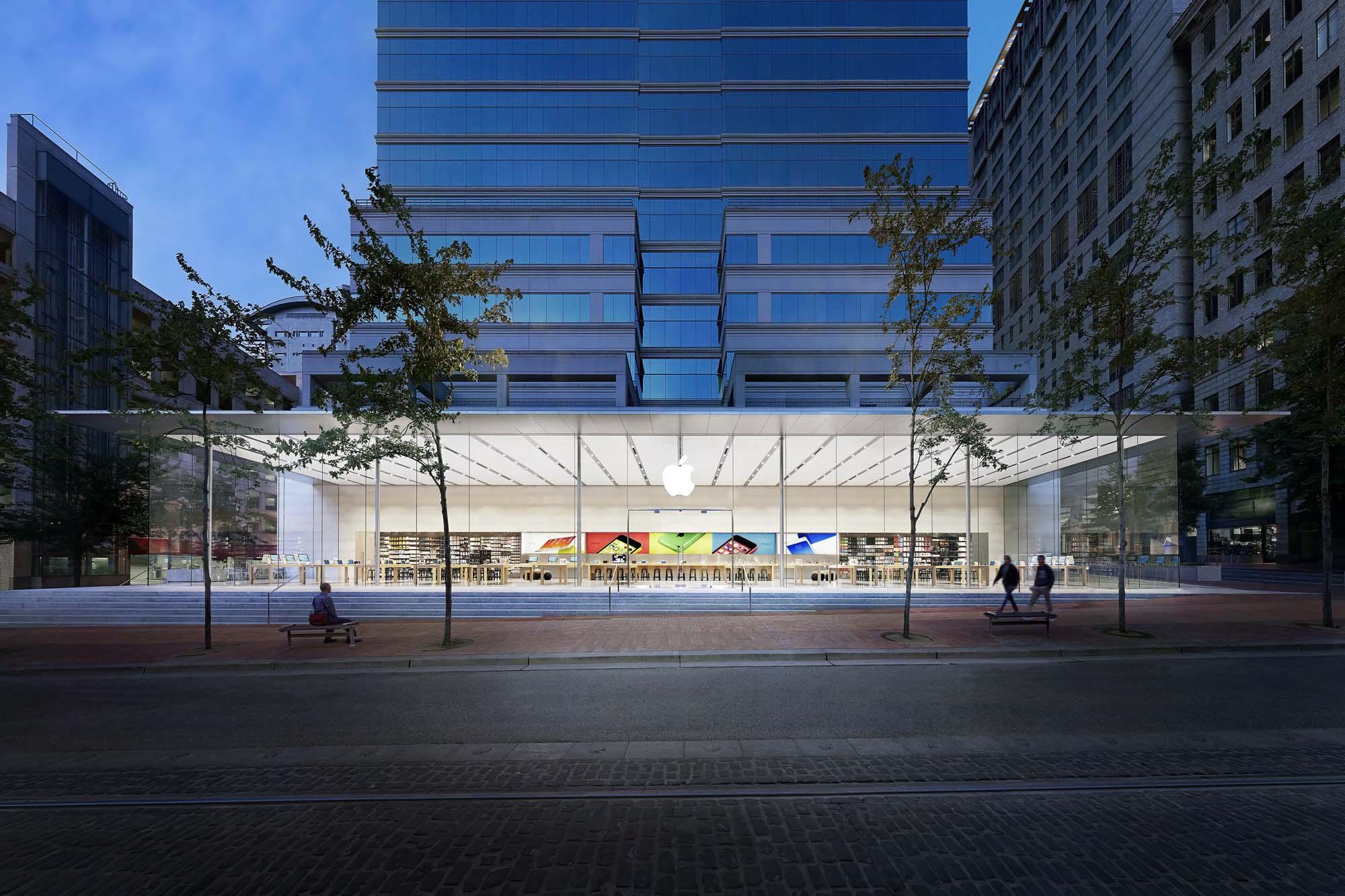 Apple Store Pioneer Place Architect Magazine Bohlin