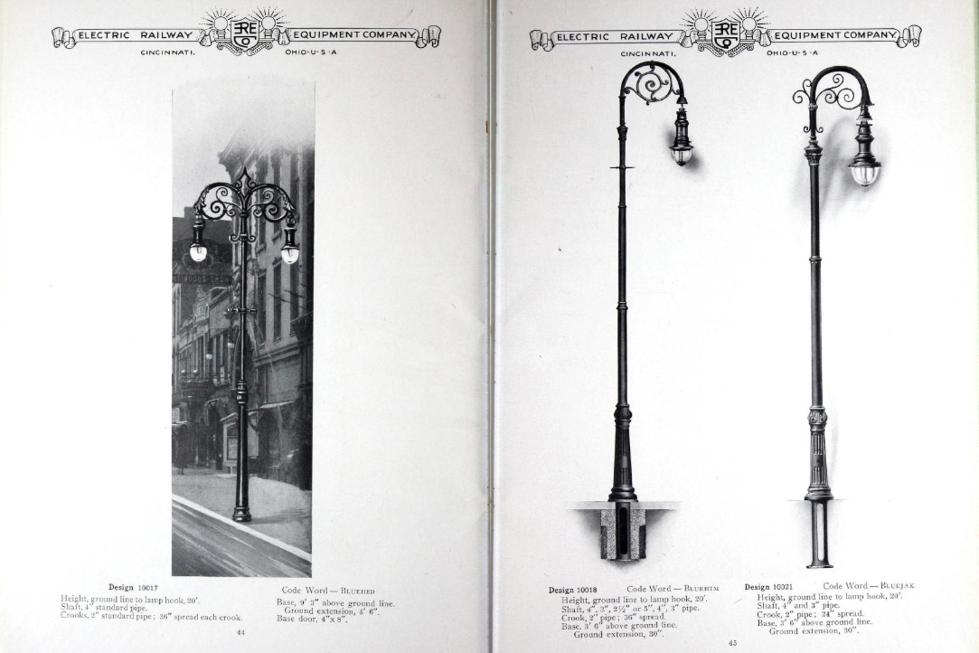 a visual history of streetlighting from
