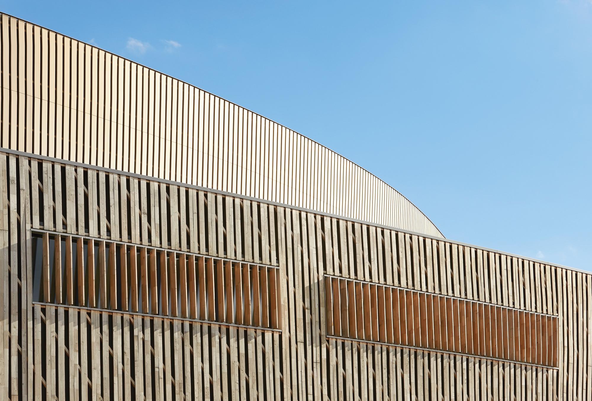 Innovative Detail Centre De Congrs  Mons Wall Section