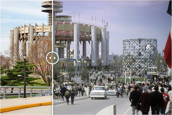 Then And Now Photos Of Philip Johnsons 1964 Worlds Fair