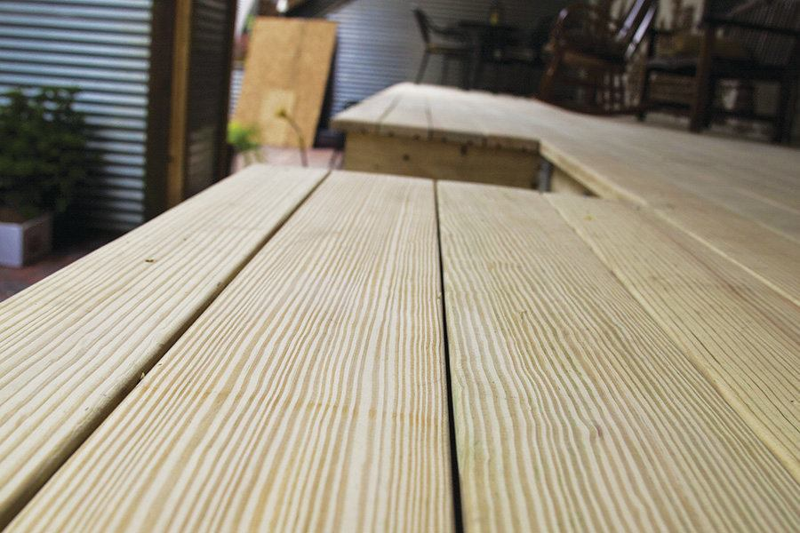 Removing Grade Stamps  Professional Deck Builder  Finishes and Surfaces Lumber