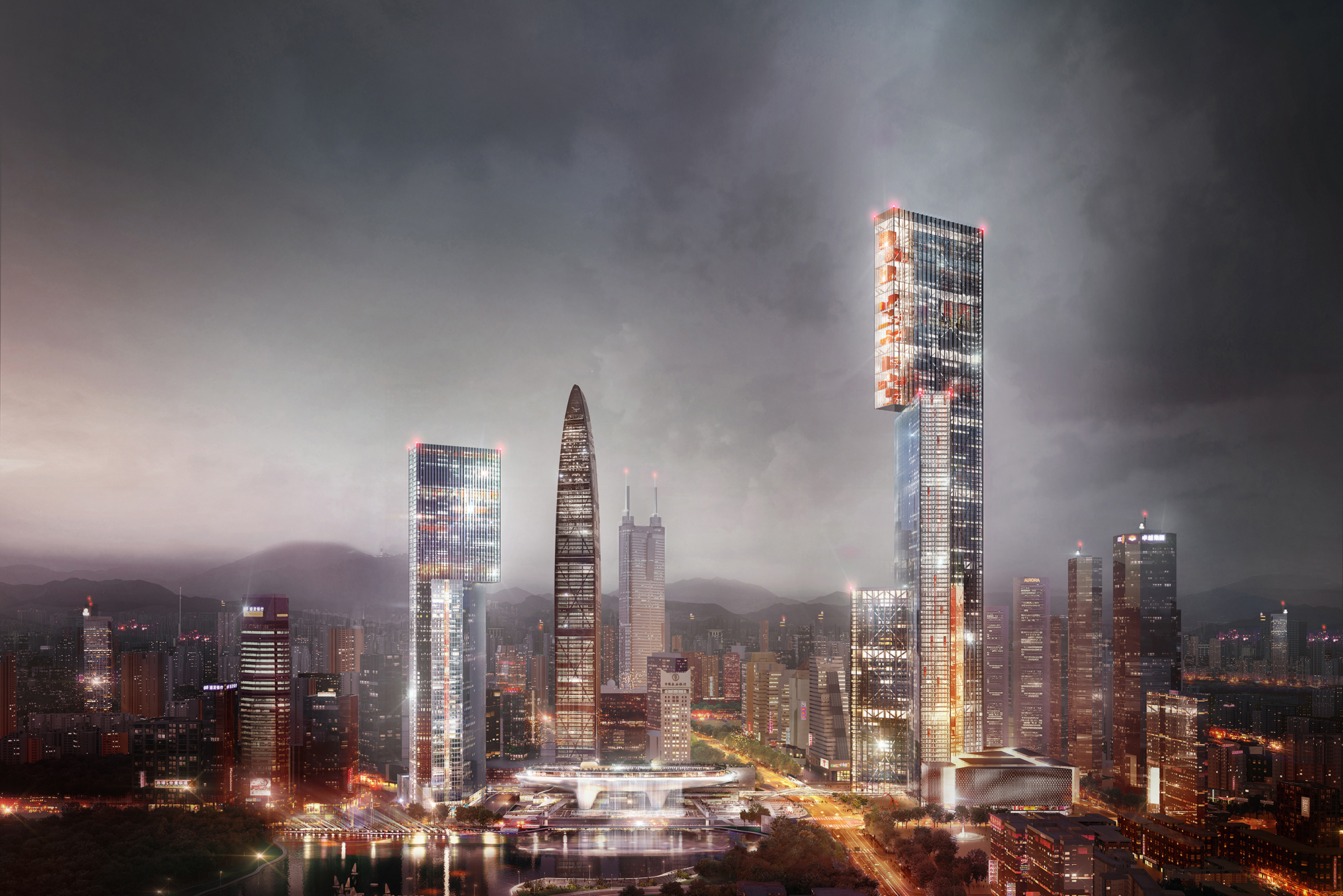 Wallpaper Killzone Shadow Fall Nexus Tower Architect Magazine Plp Architecture China