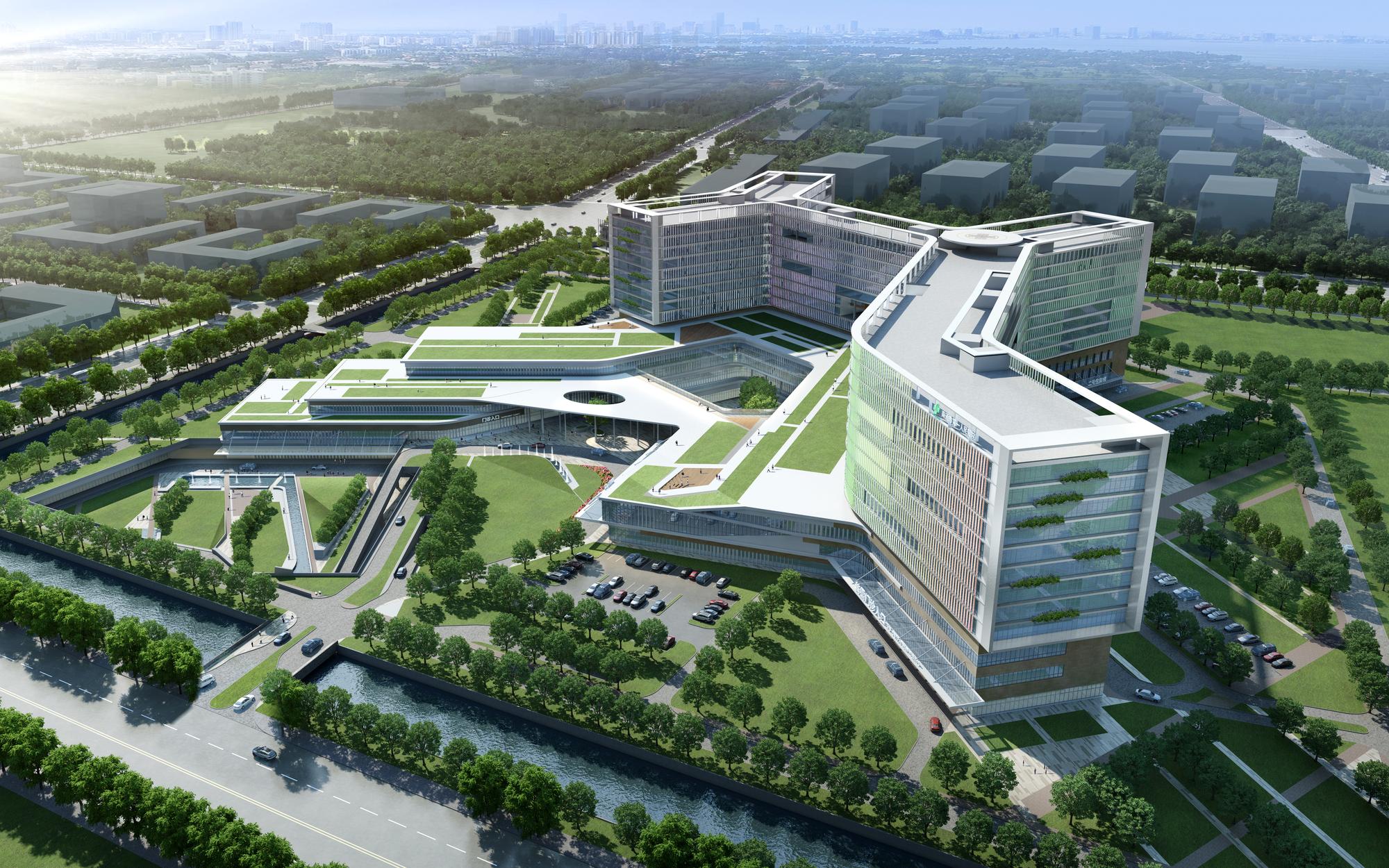 Nantong Peoples Hospital  Architect Magazine