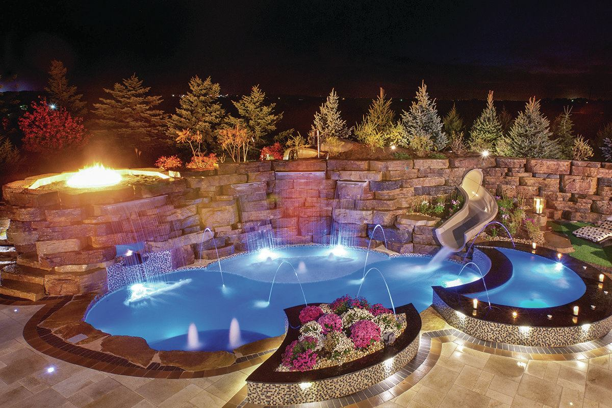 Fiberglass Pools Are Changing Direction Pool  Spa News  Fiberglass Landscaping