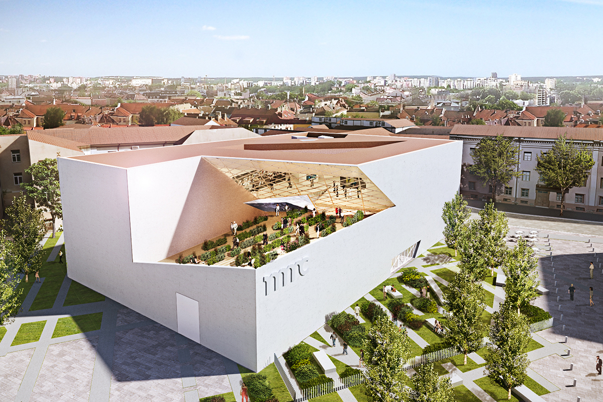 Modern Art Center Architect Magazine Studio Libeskind