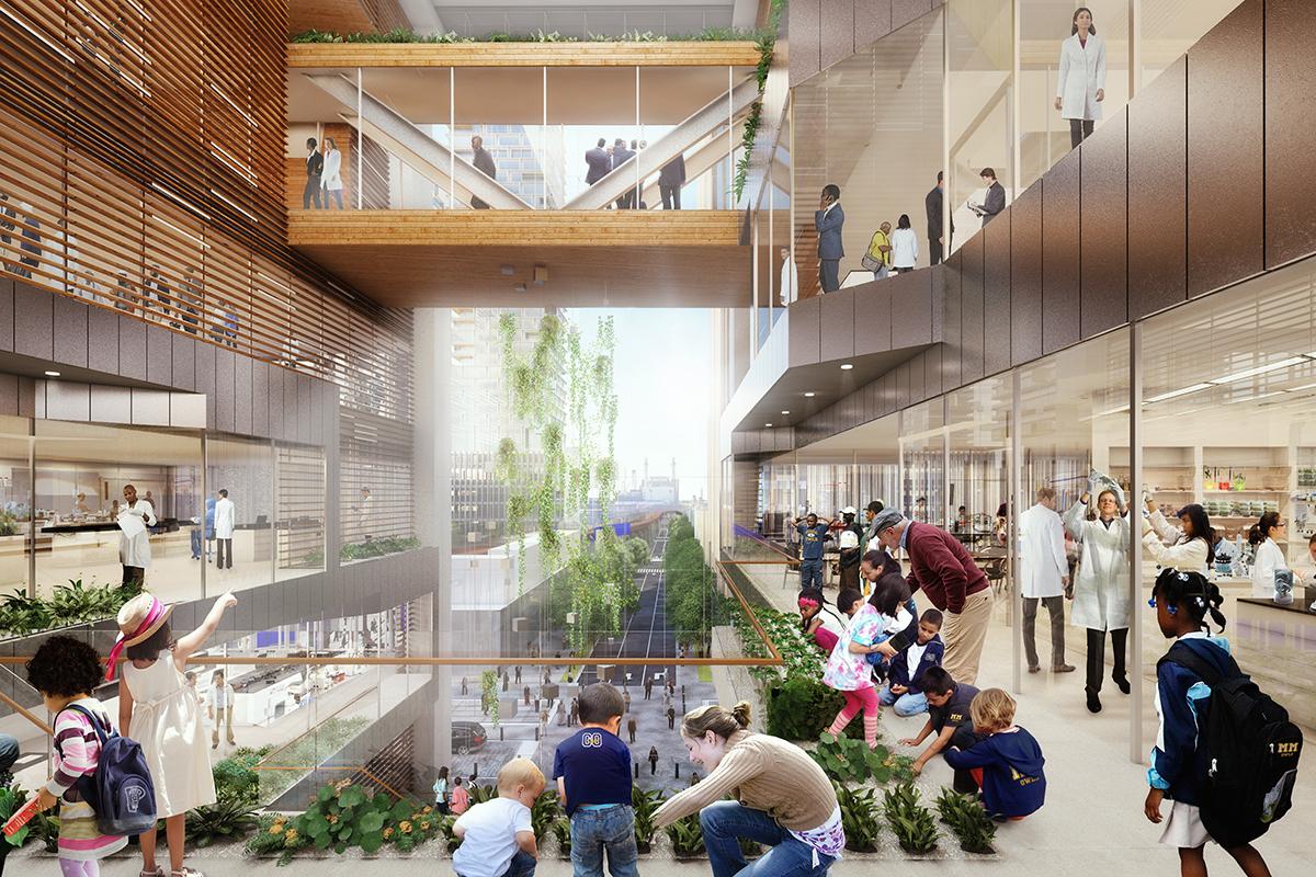 Schuylkill Yards Architect Magazine SHoP Architects