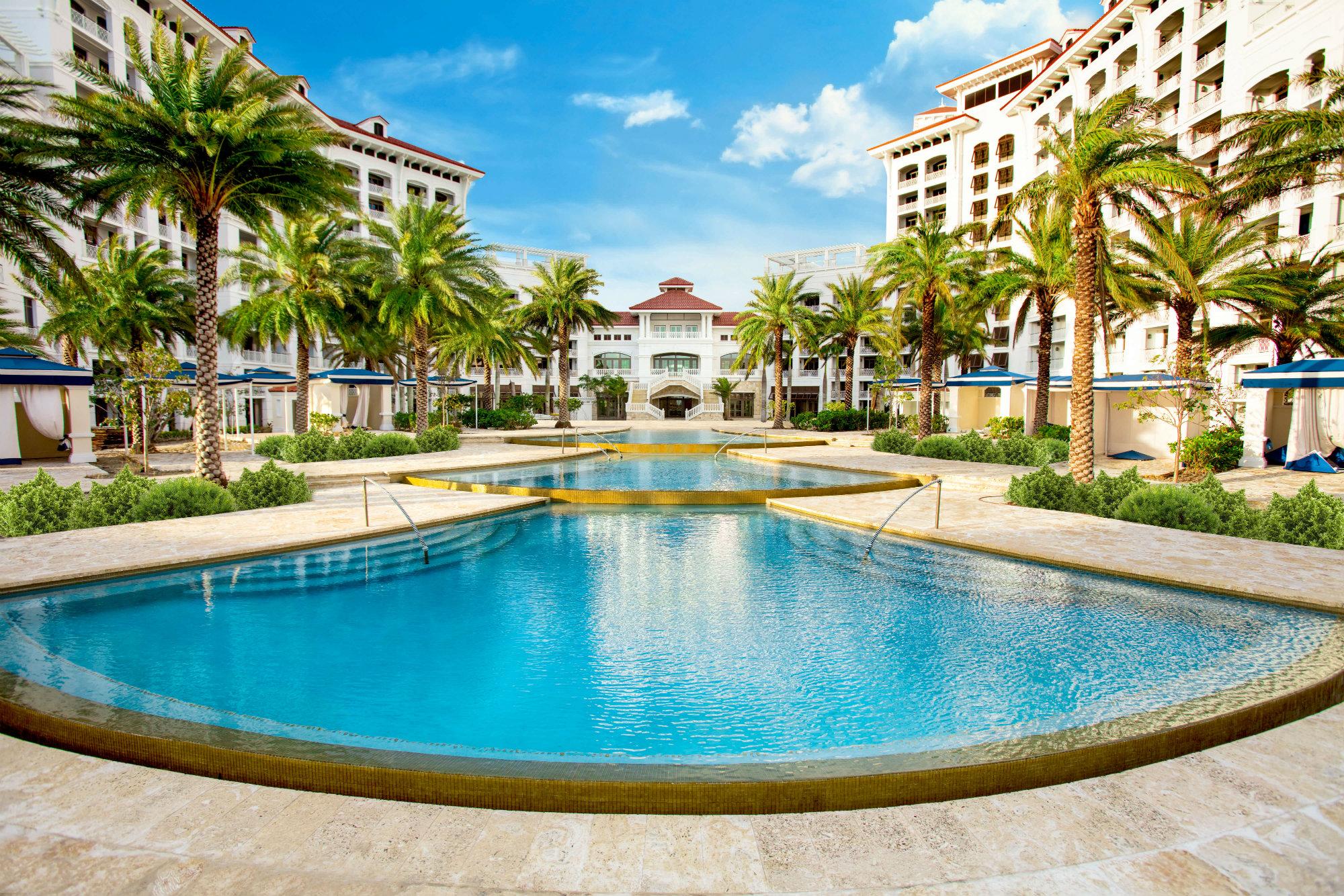 Baha Mar Resort In Nassau Bahamas Honored As Aquatics International Dream Design Aquatics International Magazine