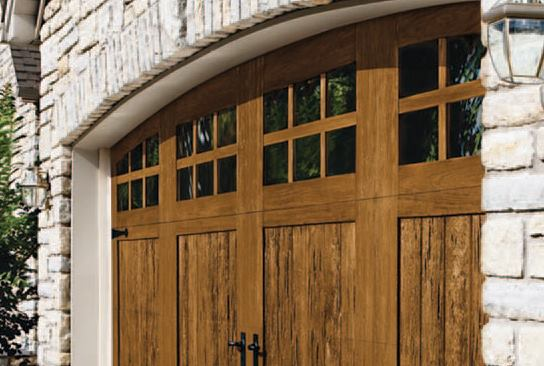 Steel Polymer Garage Doors With Realistic Wood Look Jlc