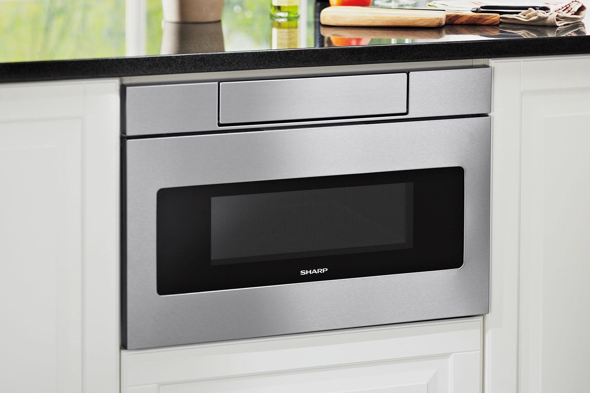 Sharp Updates Its Microwave Drawer for Universal Design