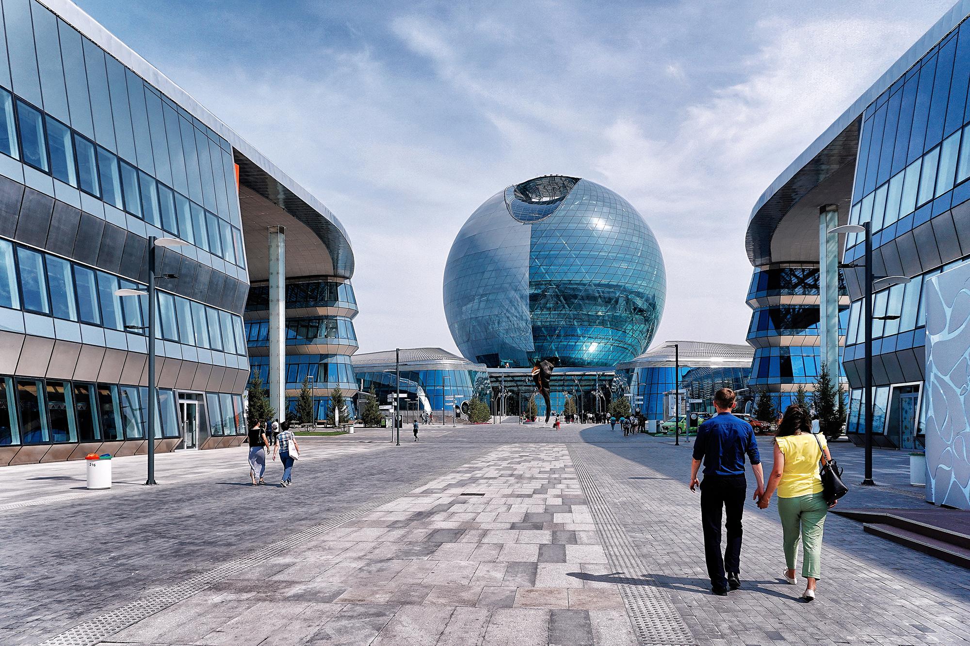 Astana Expo Celebrates Alternative Energy In Kazakhstan