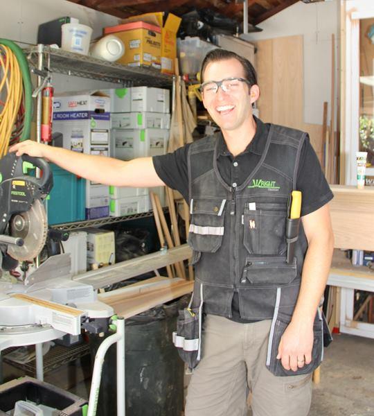 Finish Carpenter Tool Vest