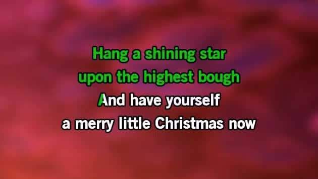 karaoke have yourself a merry little christmas the carpenters