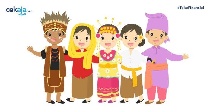 34 Pakaian Adat Dari Berbagai Provinsi Terlengkap