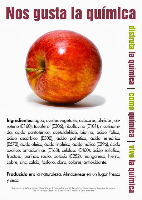 quimica manzana