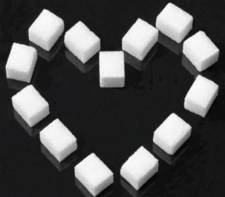 Corazón de azúcar