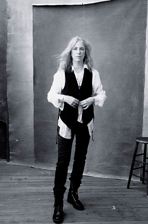 La inigualable Patti Smith.