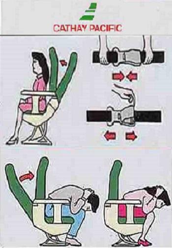 ¿Por qué es obligatorio poner el asiento del avión en posición vertical durante el despegue y el aterrizaje?