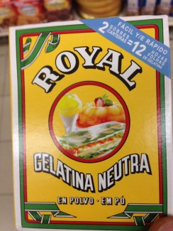 Gelatina Royal