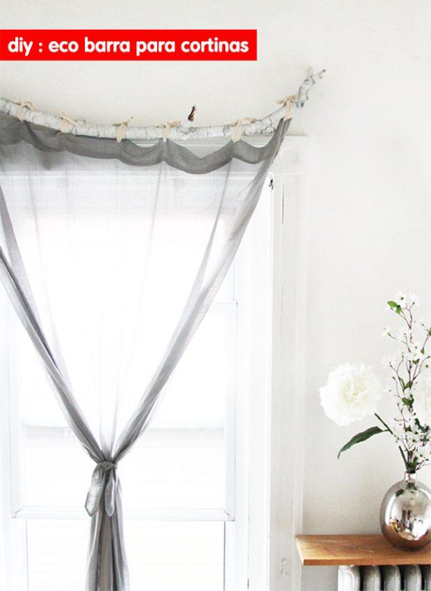 Deco Truco cmo colocar estores y cortinas sin hacer