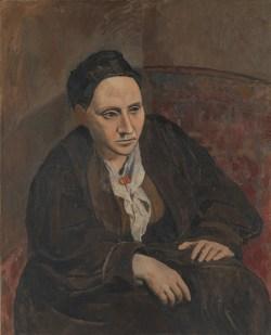 Gertrude Stein (1905-6) - Pablo Picasso