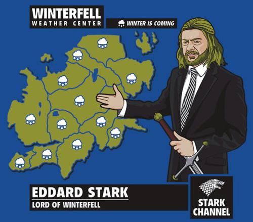 Resultado de imagen de frío winter is coming