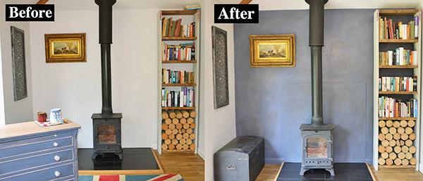 Pintura  Un hogar con mucho oficio