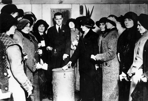 El origen e historia del derecho al voto de las mujeres