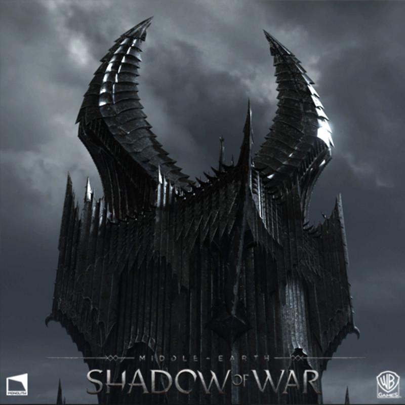 Phil Liu - Shadow Of War Barad-dur Bridge And Vista Tower