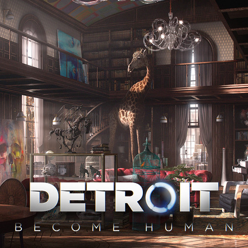 ArtStation  DETROIT  BECOME HUMAN  CARLS HOUSE