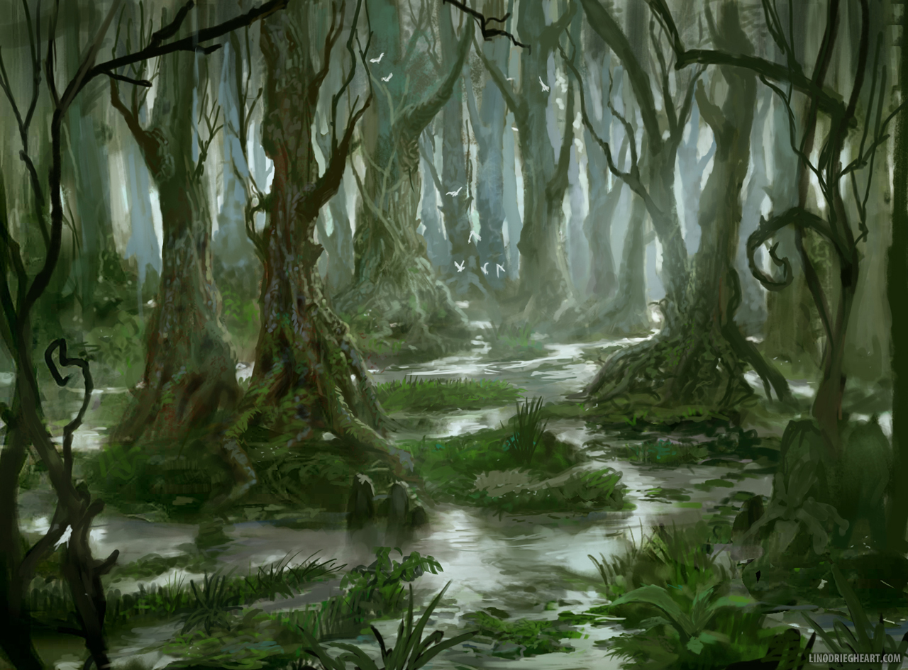 Artstation - Swamp Lino Drieghe