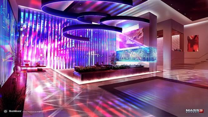 Mass Effect 3 Apartment Concept V2