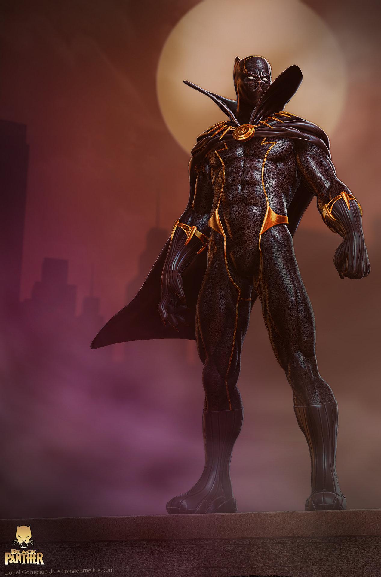 Artstation - Black Panther Lionel Cornelius Jr