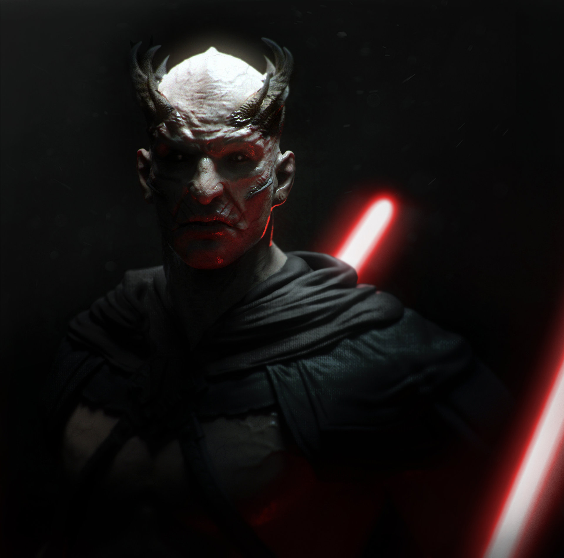 Star Wars Sith Lord Concept Art