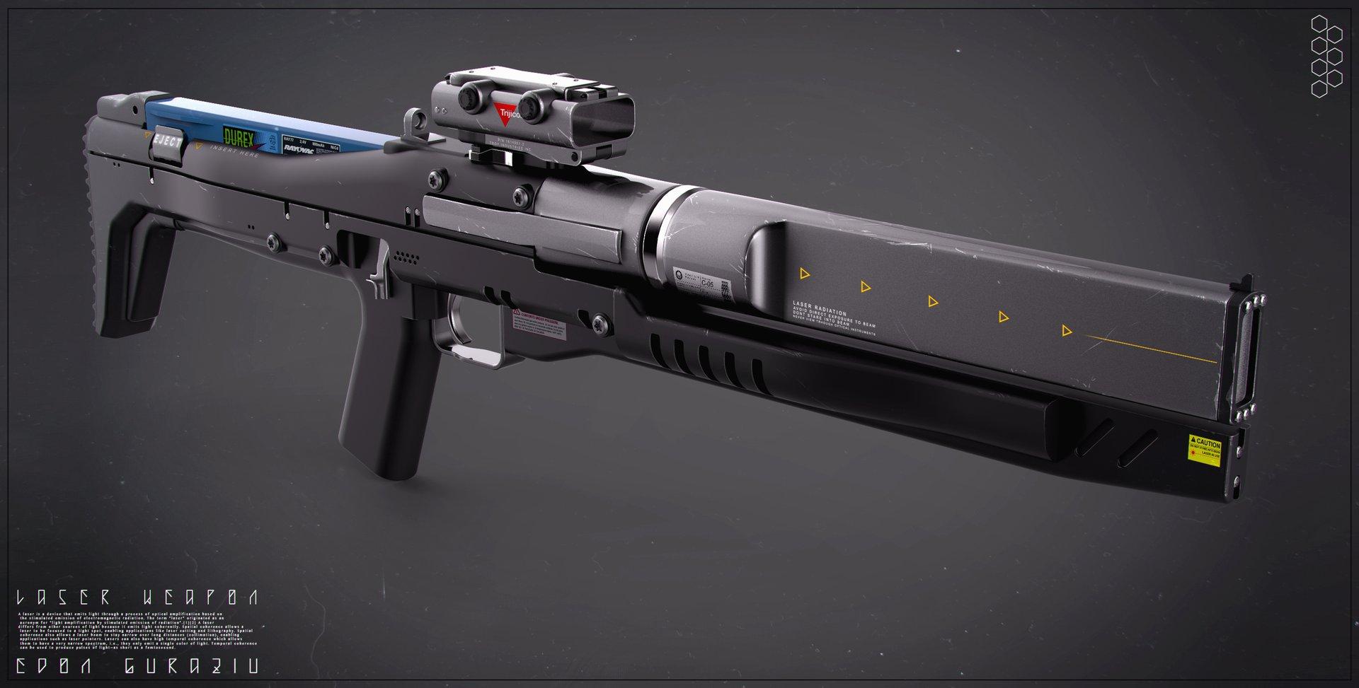 Edon Guraziu Future Weapon Concepts