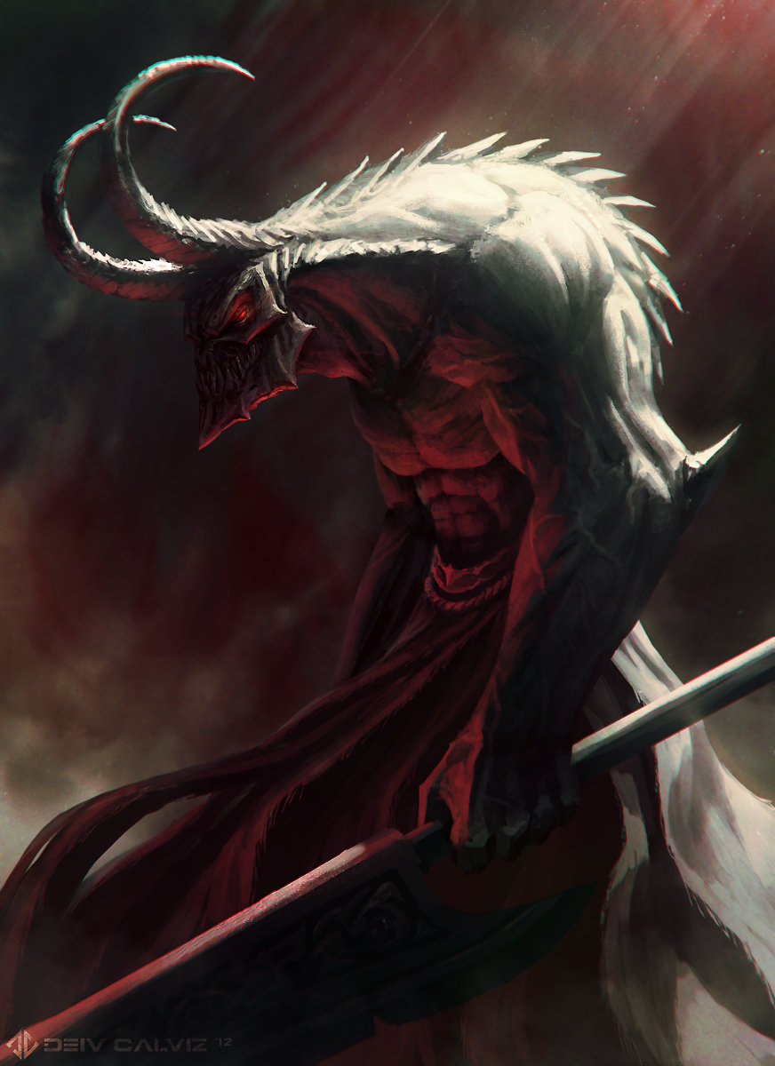 Artstation - Demon Naberius Deiv Calviz David Villegas