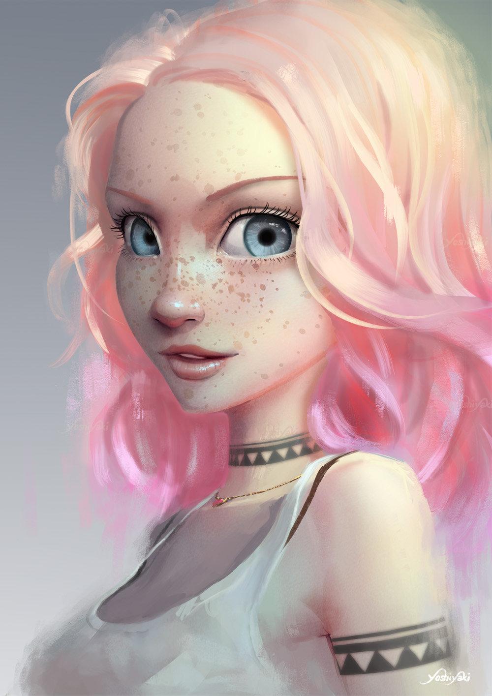 artstation - light pink cassio