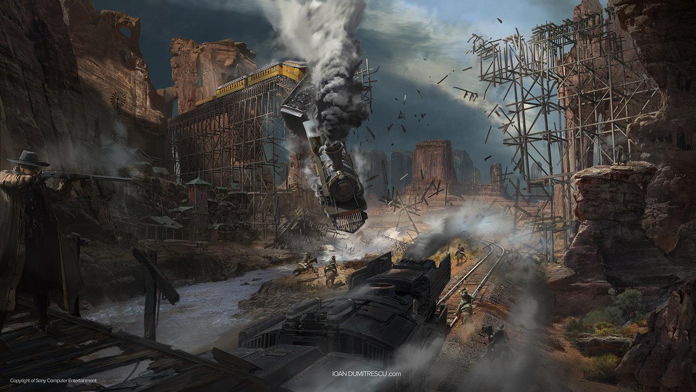 Metro 2033 Wallpaper Hd Artstation Train Crash Ioan Dumitrescu