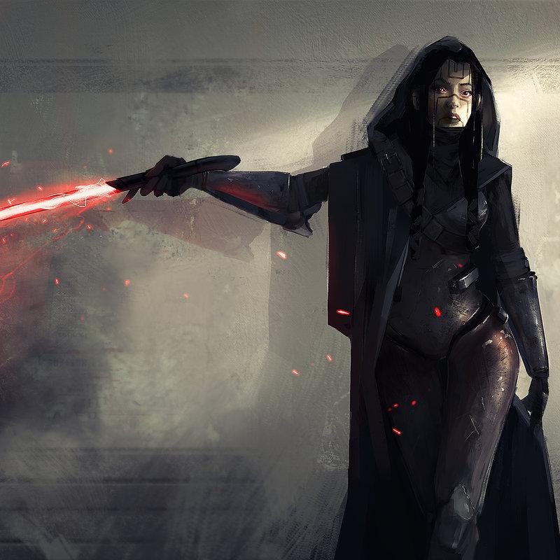Star Wars Female Sith Art